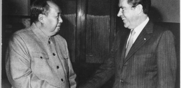 Ontmoeting Mao Nixon