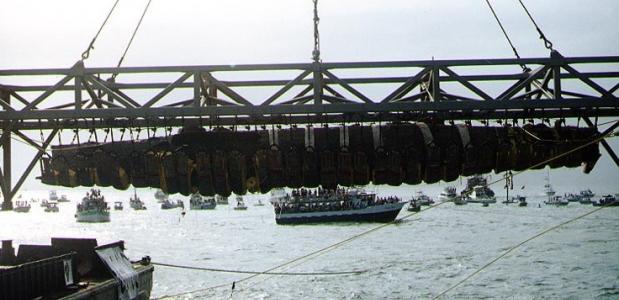 Hunley Verenigde Staten boot torpedo
