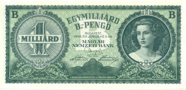 Hongaarse hyperinflatie 1945-1946