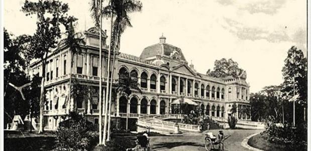 Palais du Gouvernement Général in Saigon