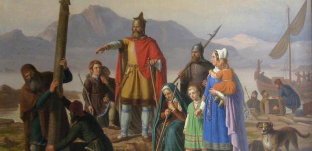 De ontdekking van IJsland door de Vikingen