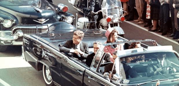 Momenten voor de moord op John F. Kennedy