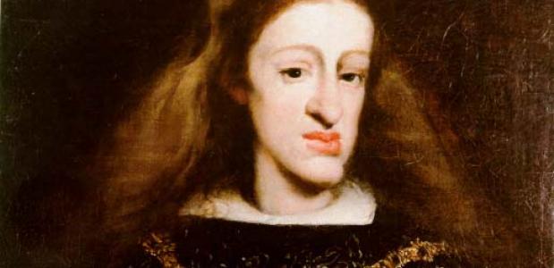 Karel II Habsburg inteelt autopsie