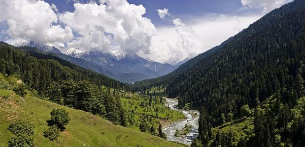 Palhalgam vallei Jammu en Kasjmir