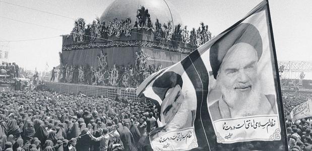 Ayatollah Khomeini was verantwoordelijk voor de Iraanse revolutie