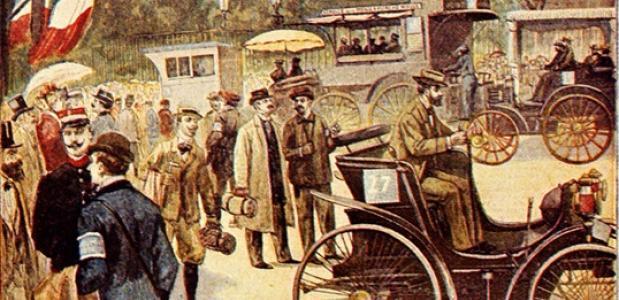 Eerste autorace geschiedenis