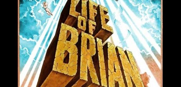 Een affiche van Monty Python's 'Life of Brian'. Bron: Flickr.