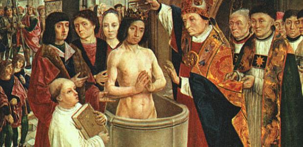 De doop van Clovis