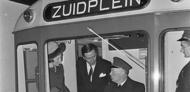 Geschiedenis van de metro van Rotterdam