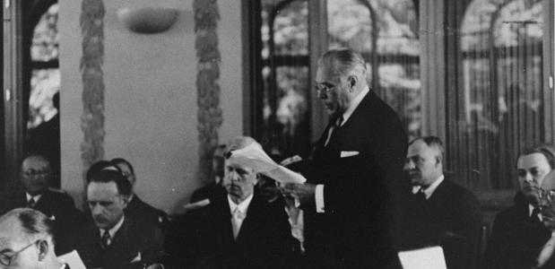 Conferentie van Evian Myron Taylor Tweede Wereldoorlog 1938