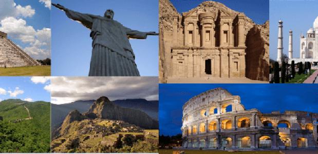 zeven nieuwe wereldwonderen
