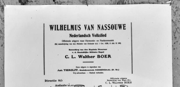 Het Wilhelmus, Duitsen bloed