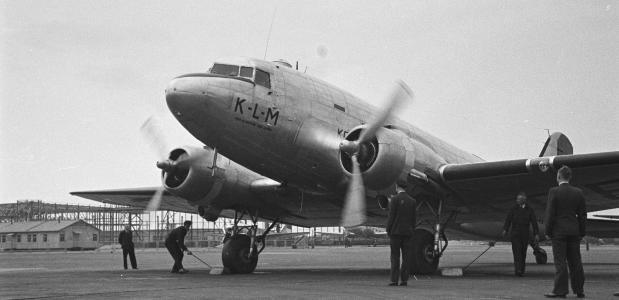 oprichting KLM