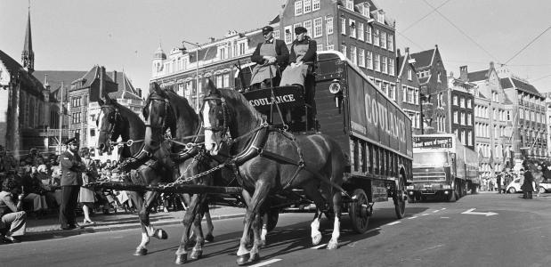 Geschiedenis transport in Amsterdam