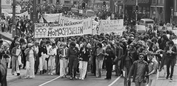 Roze zaterdag homobeweging