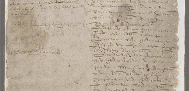 Notulen Statenvergadering 1572