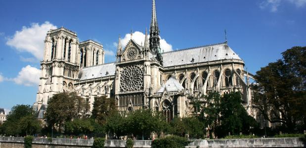 geschiedenis van de Notre Dame in Parijs