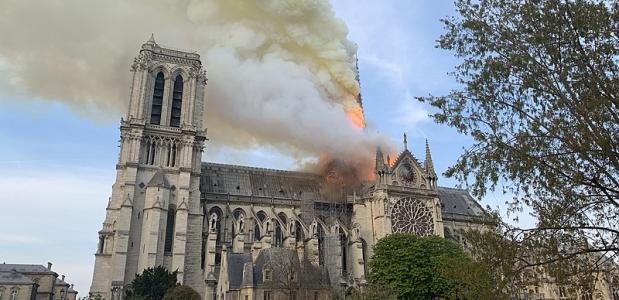 Glaswerk Notre Dame