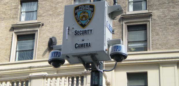 Beveiligingscamera's in New York