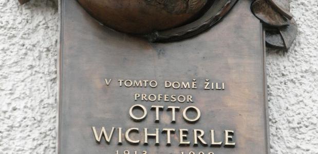 Gedenkplaat Otto Wichterle