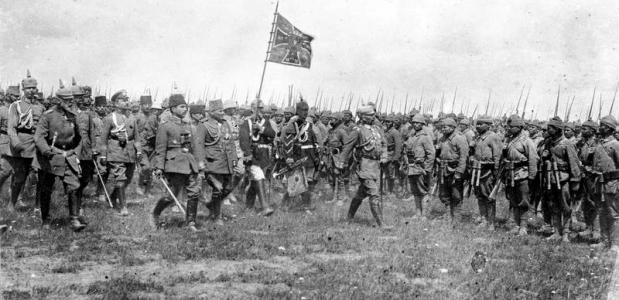 Ottomaanse Rijk tijdens Eerste Wereldoorlog.