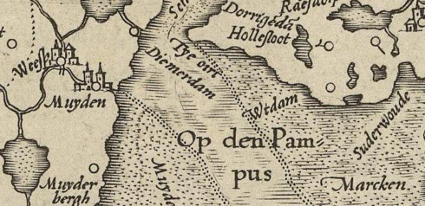 Historische achtergrond voor pampus liggen