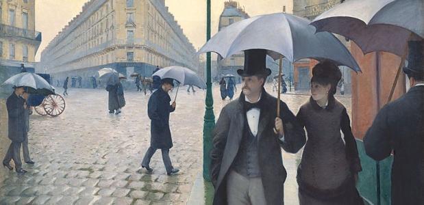 Paraplu in Parijs