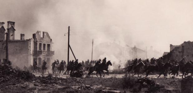 Poolse cavalerie tijdens WOII