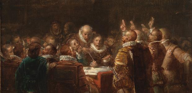 De afzwering van Filips II (Wikimedia Commons)