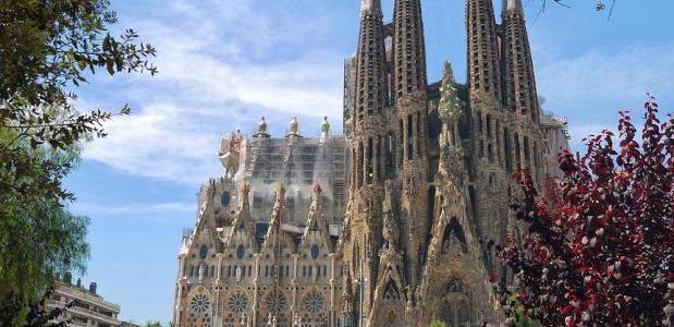 Bouw van de Sagrada Familia