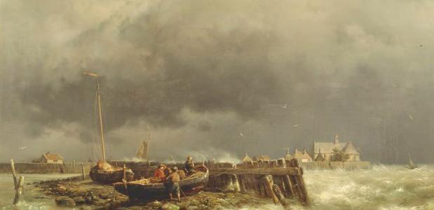 Schokland Geschiedenis Zuiderzee