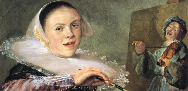 Zelfportret Judith Leyster