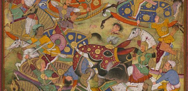 De slag bij Panipat