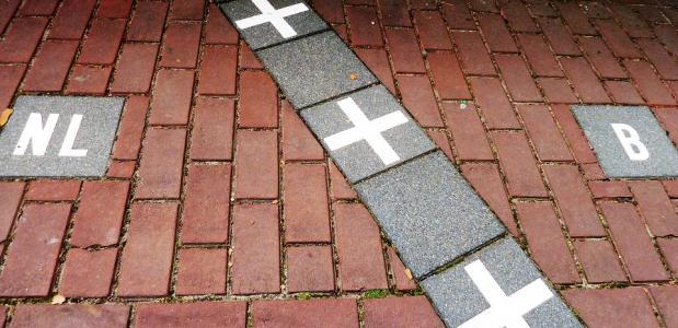 Grens Baarle-Nassau Baarle Hertog