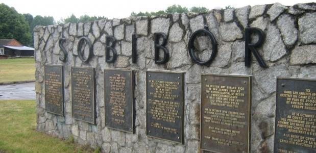 Sobibor gedenkteken vernieitingskamp