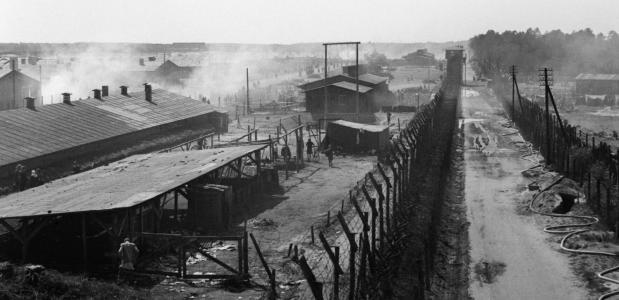 Concentratiekamp Bergen-Belsen bevrijding