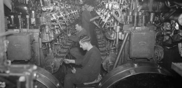 Matrozen duikboten Tweede Wereldoorlog