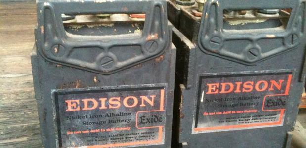 Edison droomde al van auto's op batterijen