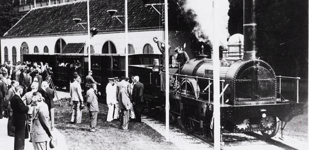 uitvinding van de trein