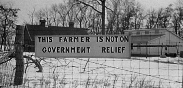 Verzet op het platteland tegen de New Deal.