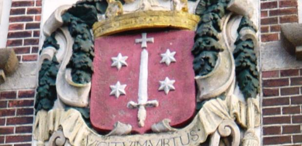 Wapenschild Haarlem Gevelsteen