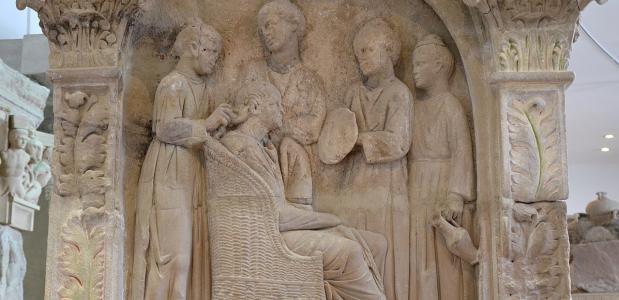 Romeinse vrouwen werk