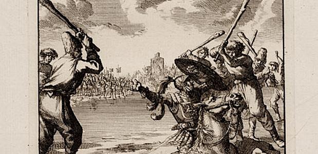 Graaf Willem II zakt door het ijs