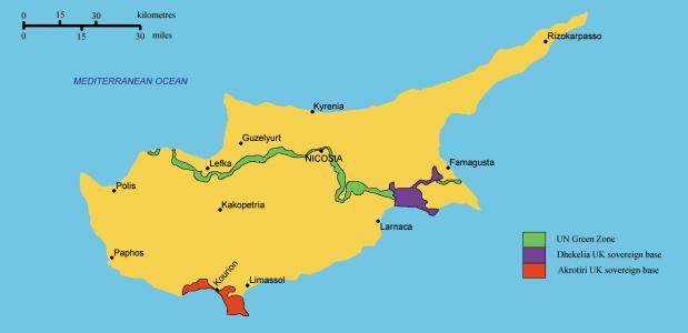 geschiedenis van cyprus