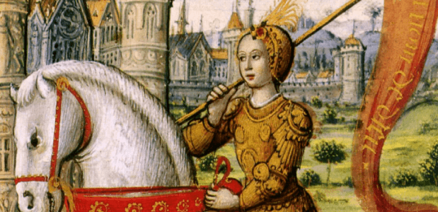 Jeanne d'Arc biografie geschiedenis