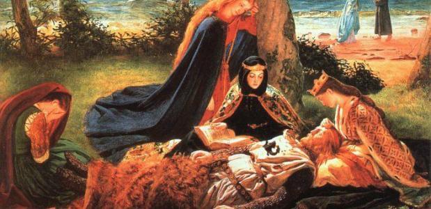 Ronde Tafel Koning Arthur.Legende Van Koning Arthur Isgeschiedenis