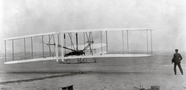vlucht van de gebroeders Wright