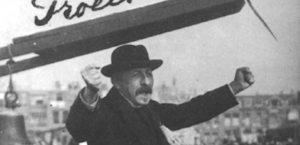 Pieter Jelles Troelstra En De Verkeerde Foto Isgeschiedenis
