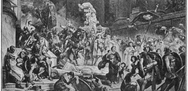 De plundering van Rome