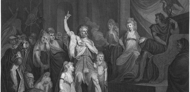 Caractaus en keizer Claudius